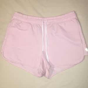 Forever 21 Pink Workout Shorts with Pockets Size L